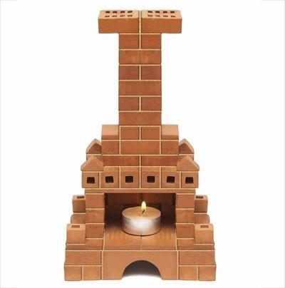 Керамический конструктор: Печка - Брикник