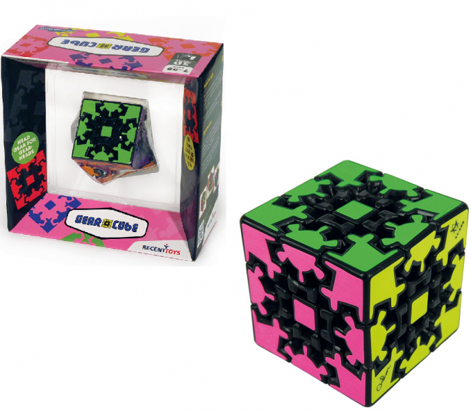 Головоломка: Шестеренчатый куб (Gear Cube) – Recent Toys