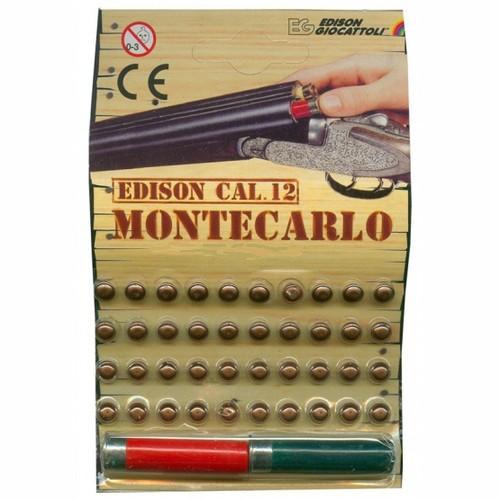 Пистоны одиночные 12 калибра Montecarlo Blister - Edison Giocattoli