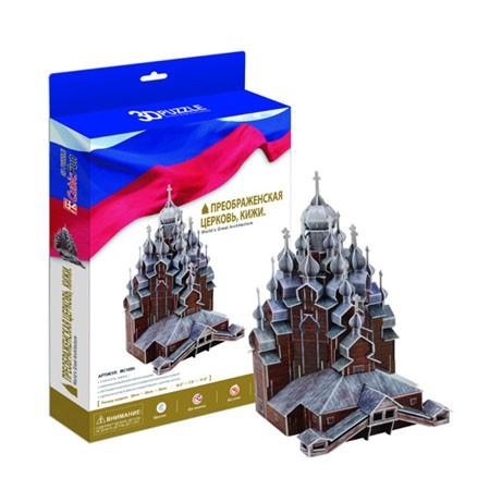3D пазл: Преображенская церковь (Кижи) - CubicFun