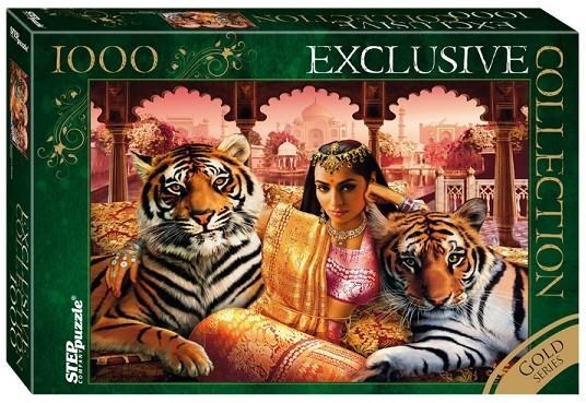 Пазл: Принцесса Индии, 1000 элементов - Step Puzzle