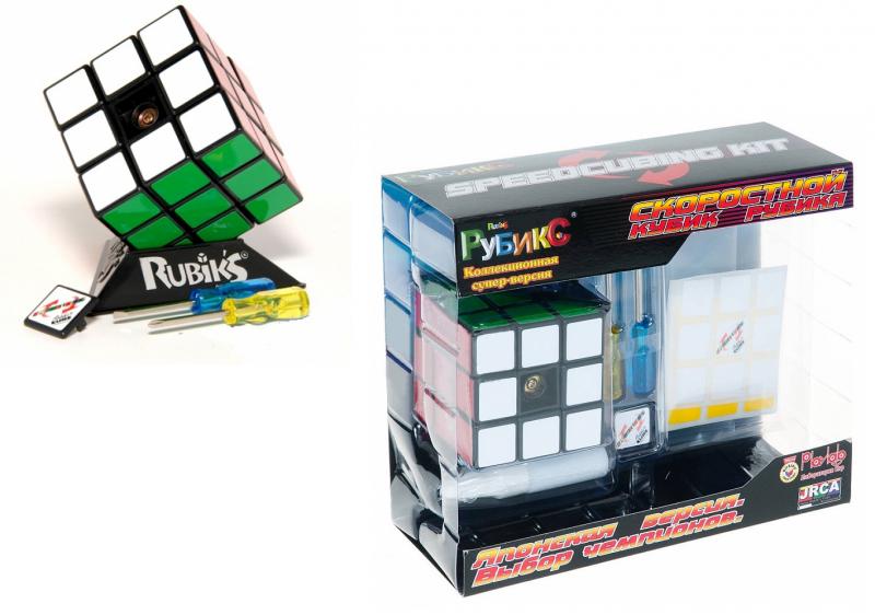 Головоломка: Скоростной кубик Рубика Speedcubing KIT - Rubik's