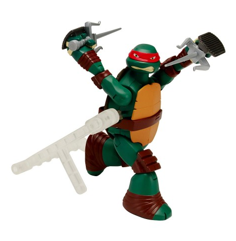 Черепашки Ниндзя: Заводная фигурка 15 см, Раф - Playmates Toys