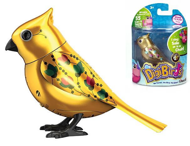 DigiBirds: Золотая птичка с кольцом - Silverlit
