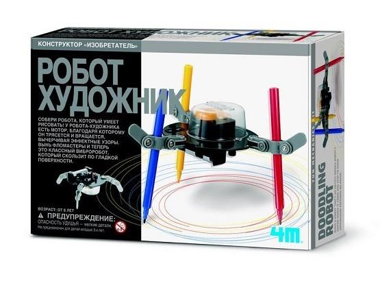 Научный конструктор: Робот Художник - 4M