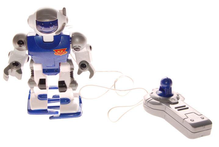 Игрушка Робот синий на пульте дистанционного управления - Keenway