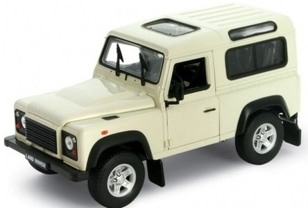 Модель машины Land Rover Defender - Welly