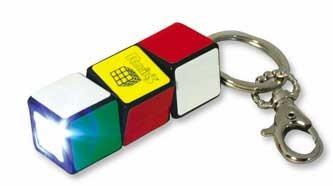 Брелок-фонарик Рубика - Rubik`s