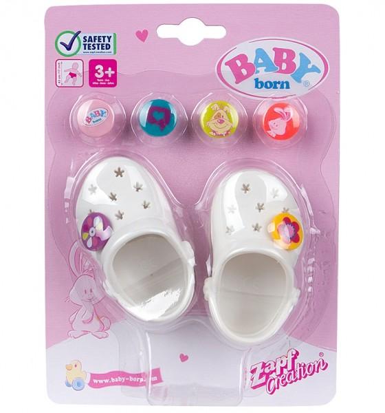 Baby Born: Сандалии фантазийные, розовые - Zapf Creation