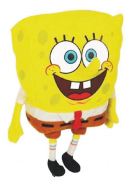 Спанч Боб: Мягкая игрушка Спанч Боб 18 см, без звука - Гулливер