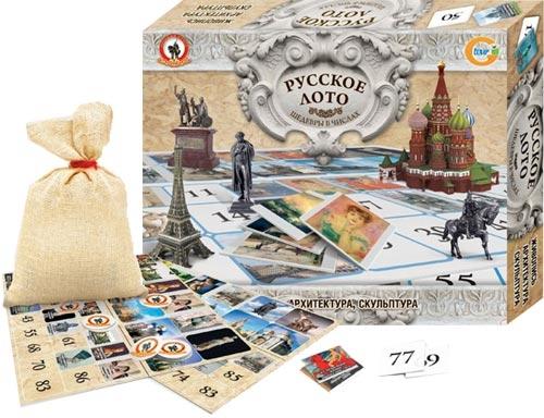 Русское Лото: Шедевры в числах - Русский стиль