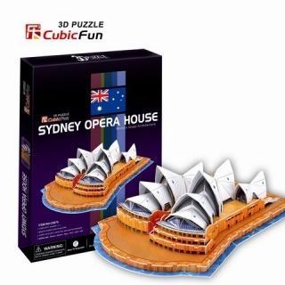 3D пазл: Сиднейский оперный театр, средний - CubicFun