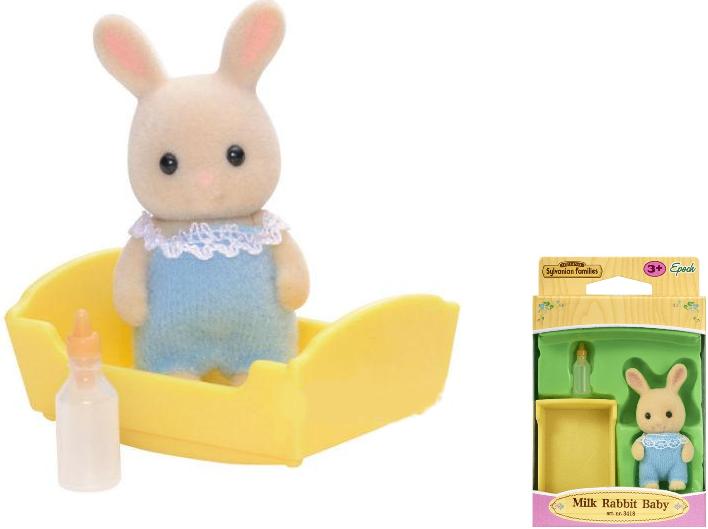 Фигурка Sylvanian Families: Малыш Молочный кролик
