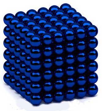 Неокуб Оригинал, Синий 216 шариков, 5 мм