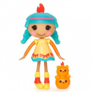 Лалалупси Мини 502296: Кукла Сказочница Красное перышко Feather Tell-a-tale – MGA