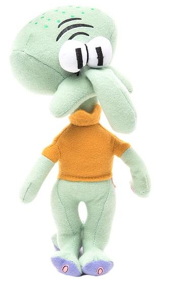 Спанч Боб: Мягкая игрушка Сквидвард, без звука - Гулливер