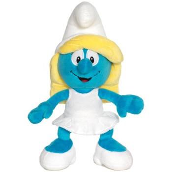 Смурфики: Мягкая игрушка Плюшевая Смурфетта, 30 см. - Jakks pacific