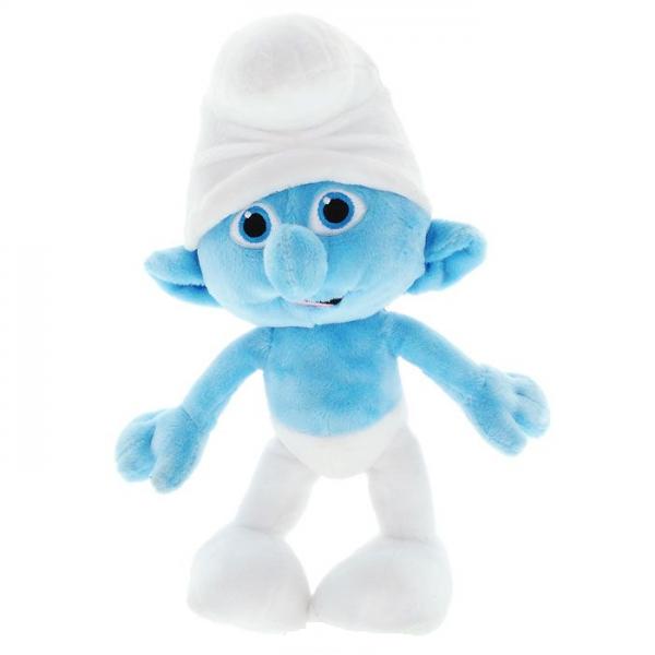 Смурфики: Мягкая игрушка Плюшевый Смурф 28 см - Jakks Pacific