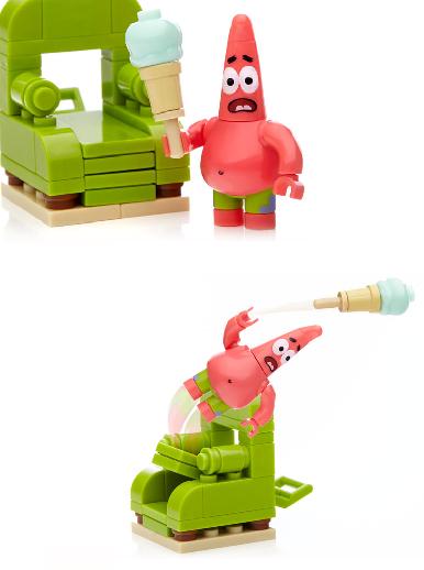 Спанч Боб: конструктор Сумасшедший Патрик - Mega Bloks