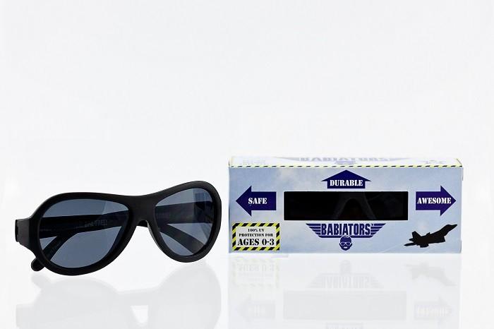Солнцезащитные очки, Babiators Black Ops Black, 0-3 лет
