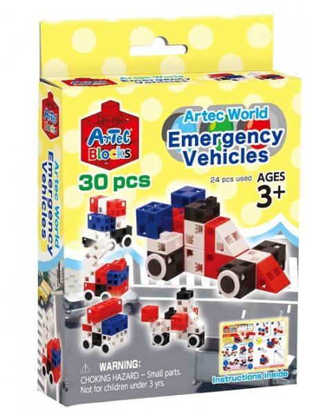 Конструктор ArTeC: World Специальные транспортные средства, 30 дет.