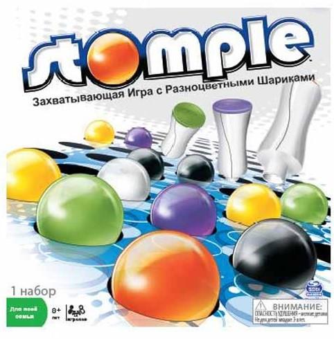 Настольная игра: Стомпл (Stomple) - Spin Master