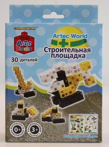 Конструктор ArTeC: World Строительная площадка, 30 дет.