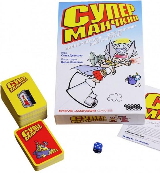 Настольная игра: Манчкин Супер - Мир Хобби