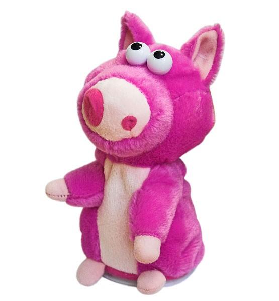 Игрушка-повторюшка: Mime friends: Свинка розовая - Woody o time