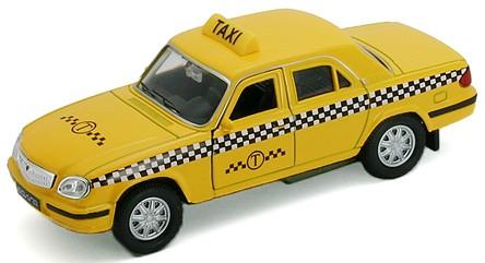 Модель машины Волга Такси - Welly