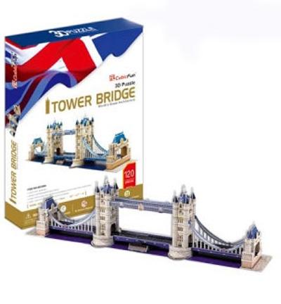 3D пазл: Тауэрский мост, большой - CubicFun