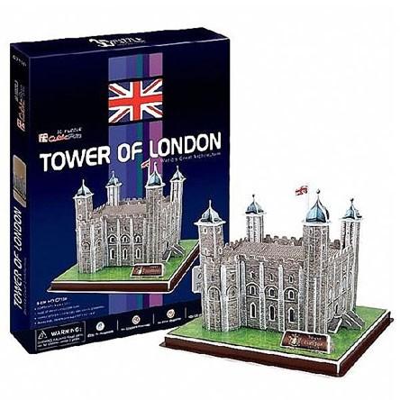 3D пазл: Лондонский Тауэр, средний - CubicFun