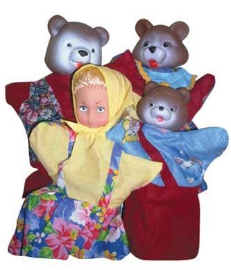 Кукольный театр: Три медведя - Русский стиль