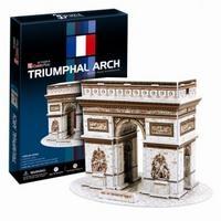 3D пазл: Триумфальная арка, средний пазл - CubicFun