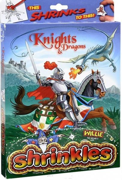 Уменьшалки: Подарочный набор Рыцари и драконы - Wizard Limited