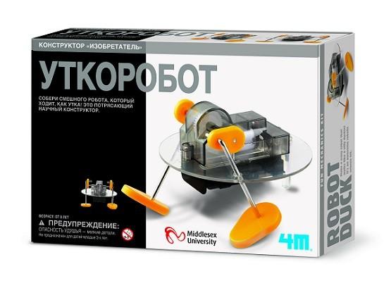 Научный конструктор: Уткоробот - 4M