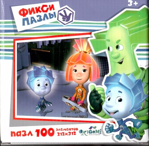 Пазл Фиксики - В компьютере, 100 эл. - Origami