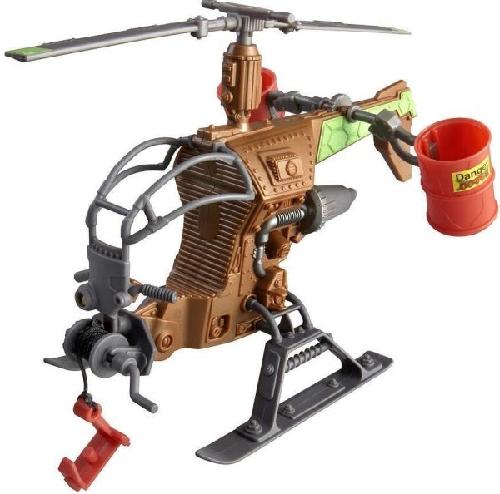 Черепашки Ниндзя: Вертолет черепашек, без фигурки - Playmates Toys