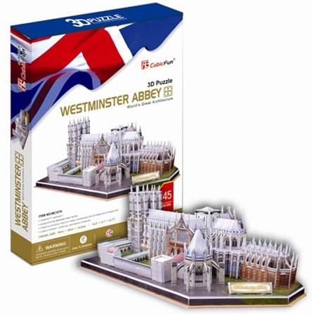 3D пазл: Вестминстерское аббатство - CubicFun