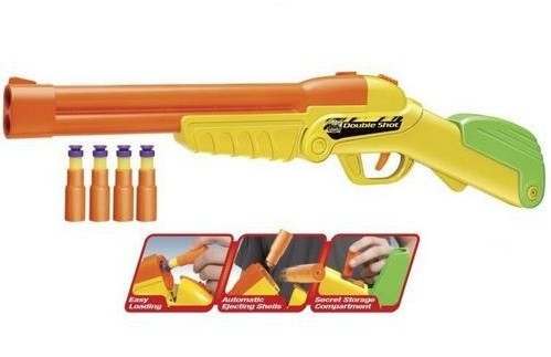 Игрушечное ружье Винчестер, с мягкими пулями - Buzz Bee Toys