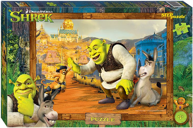 Пазл: Шрек, 360 элементов - Step Puzzle