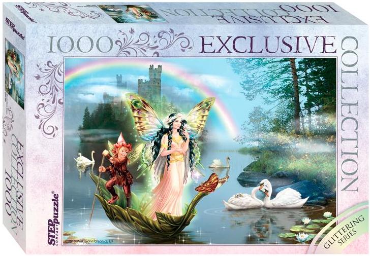 Пазл: Волшебное озеро, 1000 элементов - Step Puzzle