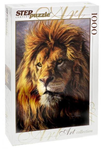 Пазл: Царь зверей, 1000 элементов - Step Puzzle