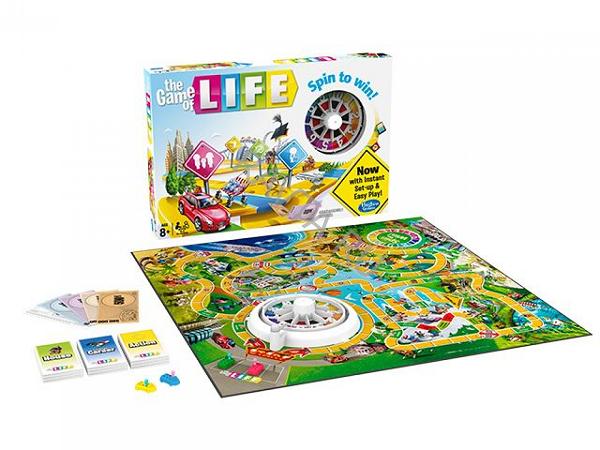 Настольная игра: Игра в Жизнь (The Game of Life) - Hasbro