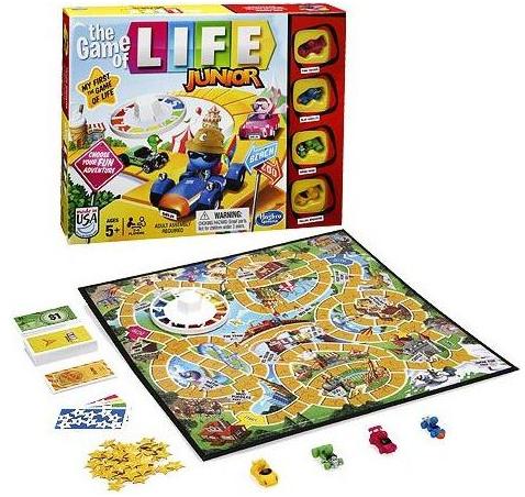 Настольная игра: Моя первая Игра в Жизнь – Hasbro