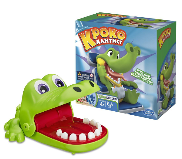 Игра: Крокодильчик Дантист – Hasbro