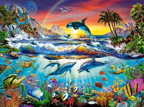 Пазл: Райская бухта, 3000 элементов - Castorland