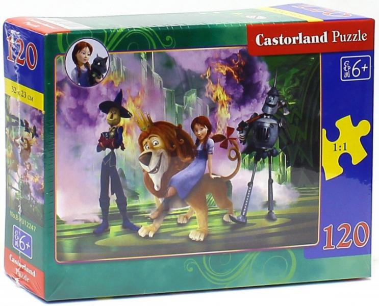 Пазл: Страна Оз. Дороти с друзьями, 120 элементов – Castorland