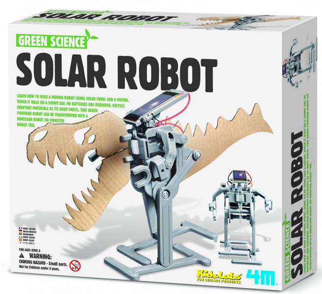 Научный конструктор: Солнечный робот - 4M