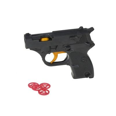 Игрушечный Пистолет с дисками – ПластМастер
